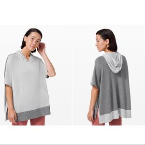Lululemon Opened Up Poncho Hoodie M/L